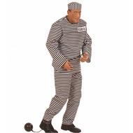 Karnevalskostüm Gefangenen