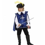 Kinder-musketier blau
