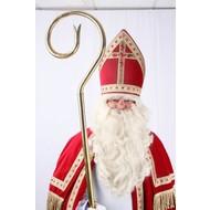 Sankt-Nikolaus zubehör: Bartset mit Schnurrbart
