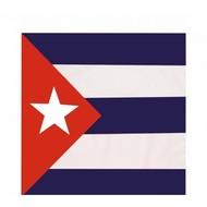 "Banadana/Taschentuch ( 55cm x55 cm) \""Cuba\"""
