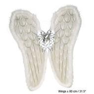 Engel-flügel (fiberoptisch Licht)