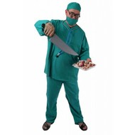 Karnevalskostüm: Kurzsichtiger Chirurg