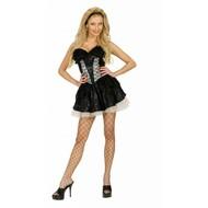 FestbeKleidung: Rock aus Spitze mit Petticoat