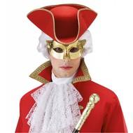 Augenmasken in Metallic gold Farbe
