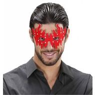 Augenmasken in rot