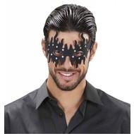 Augenmasken in schwarz