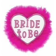 Karnevals-zubehör Brosche Fem Bride to be