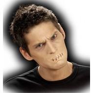 Horroraccessoires: Mund zugenäht