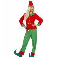 Faschingskostüm Weihnachts-elf Donna