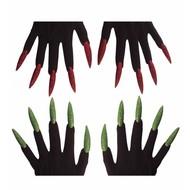 Halloweenaccessoires: Hexen Handschuhe