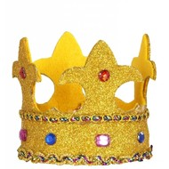 Karnevals-zubehör mini Prinzessinenkrone Alicia