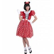 Faschingskostüm Maus-mädchen Minnie