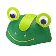 Faschings-accessoiren Frosch-mütze