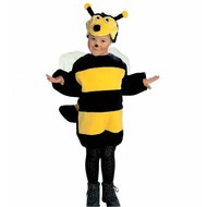 Plüsche Karnevalskostüm: Kleine Biene