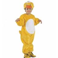 Plüsche Karnevaslskostüm Kind: Kleine Ente