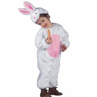 Plüsche Karnevalskostüm: Kaninchen