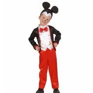 Karnevalskostüm: Maus Mickey