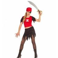Kinderkarnevalskostüm: Pirate Mädchen