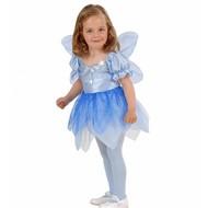 Karnevalskostüm: Kind Kleine blaue Fee