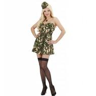 Berufskostum sexy Armee-girl Eline