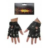 Carnavalsaccessoires: Punk-handschoenen