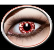 Halloweenaccessoires: Contaclens Bloeddoorlopen oog