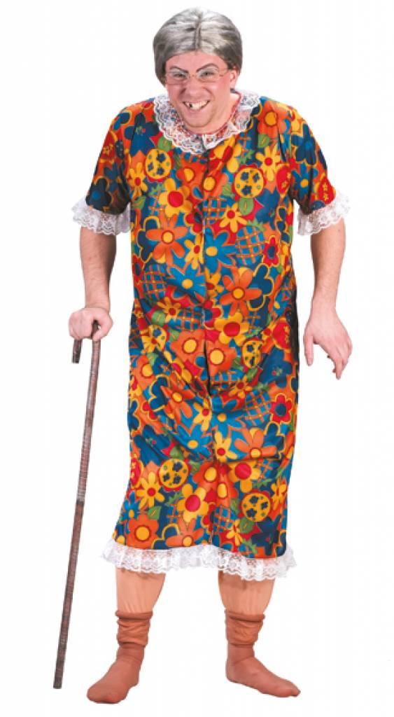 Blote oma jurk voor vrijgezellenavonden - e-Carnavalskleding