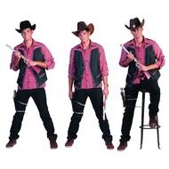 Cowboy vest Tim heren