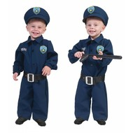 Baby politiepakjes voor carnaval