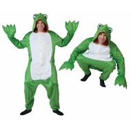 Groen kikkerpak voor carnaval