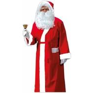 Kerstmannen jas met capuchon