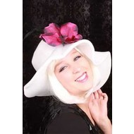 Witte hoedjes voor party's