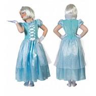 IJsprinsessen jurkje voor kinderen