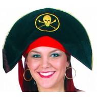 Feestaccessoires: Piratenhoeden