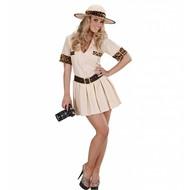 Carnavalskostuum: Safari meisje