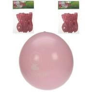 Ballonnen geboorte meisje roze