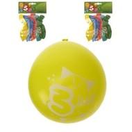 Leeftijd ballonnen 3 jaar