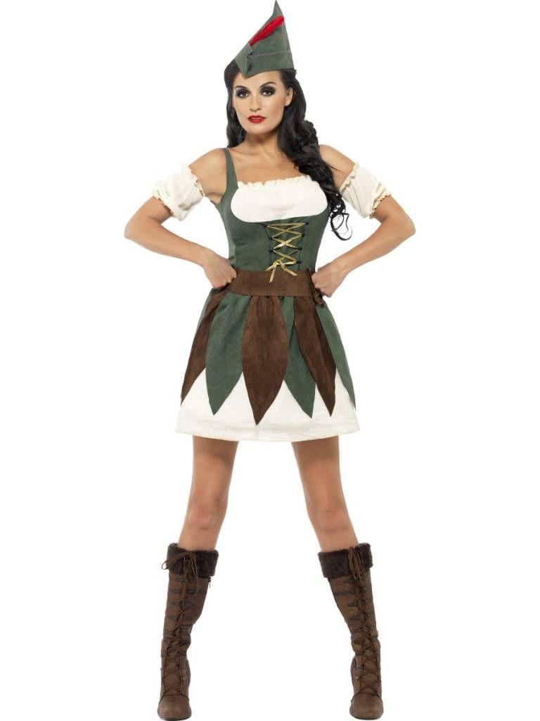 Sexy Robin Hood Jurkje Elise