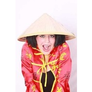 Carnaval- & feestaccessoires: Strohoed Chinees