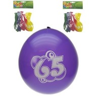 Leeftijd ballonnen 65 jaar