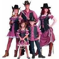 Cowboy vestje Kees voor kinderen