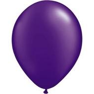 Kwaliteitsballonnen metallic paars