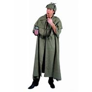 Feestkleding: Sherlock Holmes cape