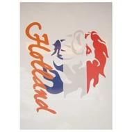 Hollandse leeuw rood-wit-blauw oranje