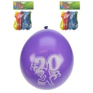 Leeftijd ballonnen 20 jaar
