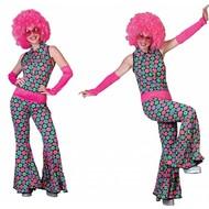 Disco Polka Jumpsuit voor dames