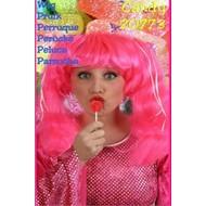 Carnaval- & feest accessoires: Barbie Pruik Candy