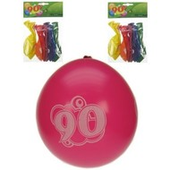 Leeftijd ballonnen 90 jaar