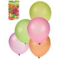 Ballonnen neon kleuren assortiment
