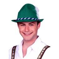Groene tiroler hoedjes